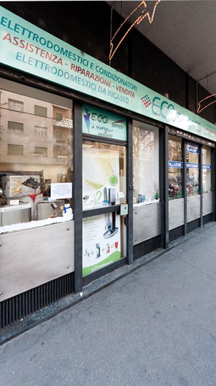 Negozio E.Co.Service Corso Raffaello 13 - Torino